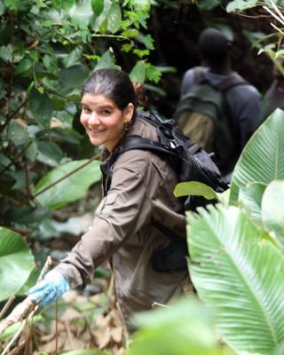 Susana in Guinea - West Africa