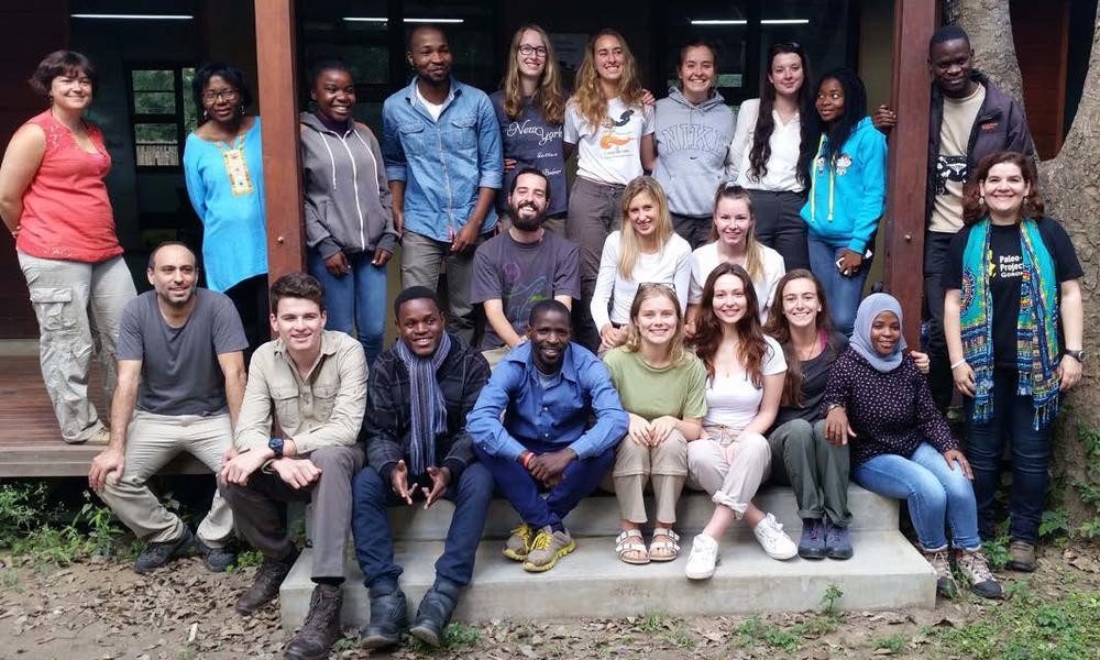 Participants of the Oxford-Gorongosa Paleo-Primate Field School 2018