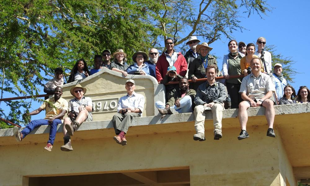wenner gren workshop participants at the lion house  gorongosa